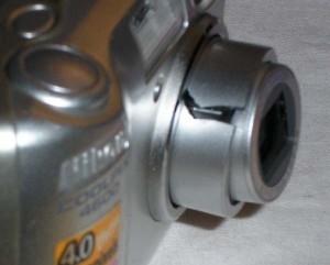 Существует ли опасность потери или повреждения фотоаппарата?