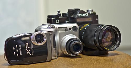Выбор категории фотоаппарата